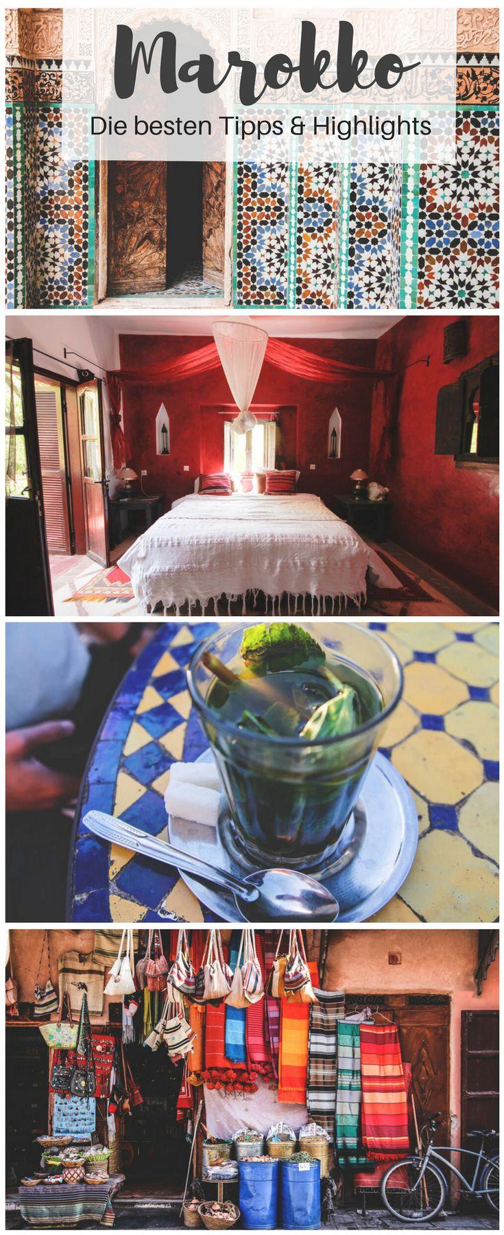 Alles was du über deine Rundreise durch Marokko wissen solltest - Mehr dazu auf unserem Blog! #marokko #rundreise #reisetipps #highlights