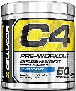 Cellucor - C4 Fitness Training Pre-Workout Supplement for Men and Women - Enhance Energy and Focus with Creatine Nitrate and Vitamin B12, Icy Blue Razz, 30Servings, 6.87 oz (Icy Blue Razz 60 servings) Tag a friend who would love this! $ FREE Shipping Worldwide Buy one here…