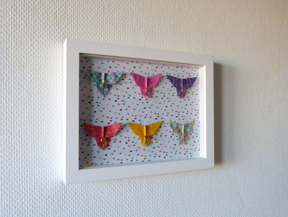 125 best images about mobiles b b origami on pinterest for Decoration murale origami
