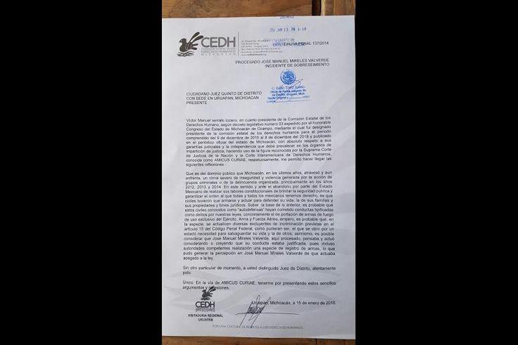 El ombudsman Víctor Manuel Serrato, presentó escrito en el que promueve la figura jurídicaAmicus Curiae,a través del cualpide a la autoridad competente que al momento de resolver sobre el caso ...