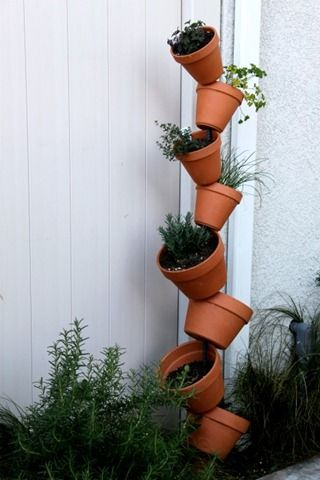 Vertical Gardening, Clever!