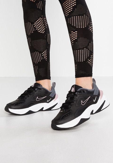 quality design 5d900 d17f2 Nike Sportswear M2K TEKNO - Trainers - black plum chalk dark grey summit  white - Zalando.co.uk