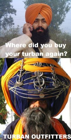 : Turban Outfitters, Turban Unravel, Indian Summer, Fashion Cities, Funny Stuff, Sikh Turban, So Funny, Beautiful People, Turban Wow