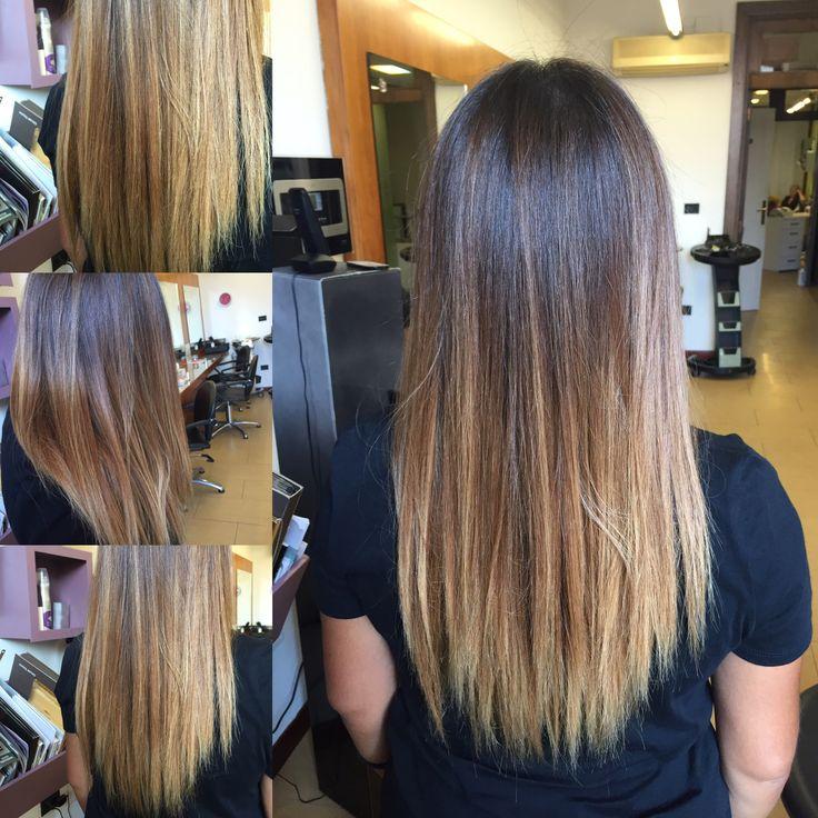 #degradèjoelle #degradè #hombre #sfumature #blonde  #puntechiare #hairstyle2016 #hairstylist #italianstyle #italianhaistylist #Sassari #sardegna