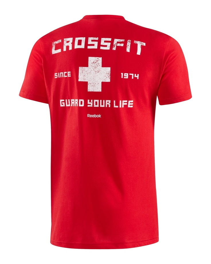 CrossFit HQ Store- Lifeguard Tee - Short Sleeve Tees - Men Buy Authentic CrossFit T-Shirts, CrossFit Gear, Accessories and Clothing