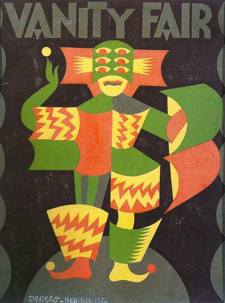 Fortunato Depero (1892-1960, Italy), 1930, Vanity Fair, New York.