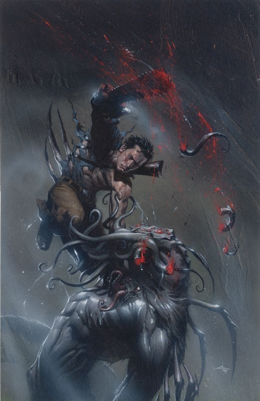 Army of Darkness vs Reanimator cover - Gabriele Dell'otto Comic Art