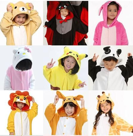 New Hot Sale Kids Anime Kigurumi Carnevale Costume Lovely Cheap Pajamas Cosplay Onesies Costume Children Sleepwear Coat From Jessiebee, $24.02 | Dhgate.Com