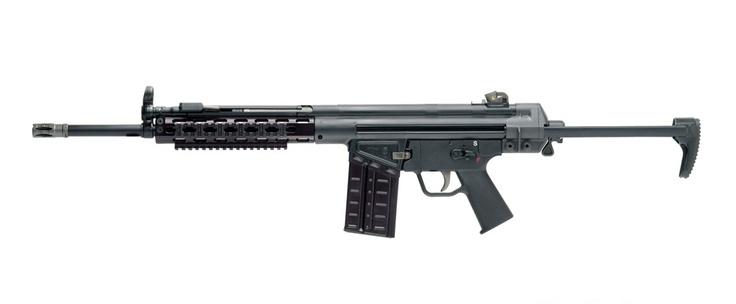 HK91 7.62x51mm NATO