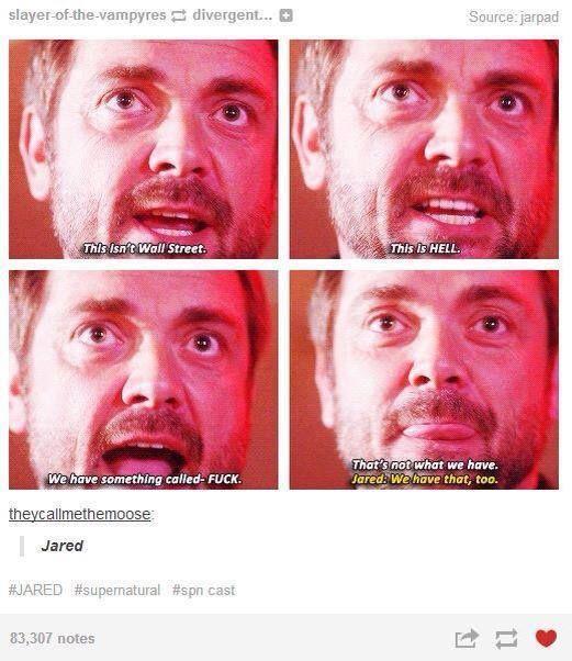 Oh Jared / Supernatural