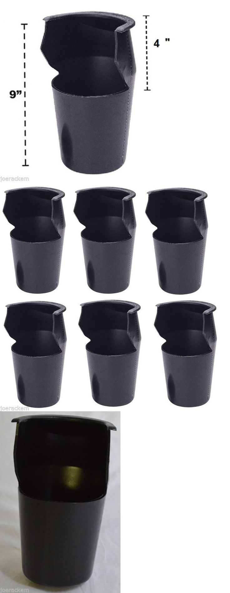 Tables 21213: Black Molded Pockets - Set Of 6 Pool Table Pockets - Poly-Vinyl - Free Us Ship BUY IT NOW ONLY: $57.99