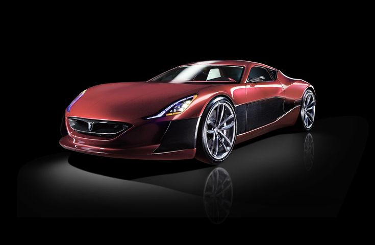 """The Rimac Concept One is an exceptional  supercar with a new propulsion concept. With a curb weight of 1650 kg, and 1088 HP, the Concept One can reach 100 km/h from a standstill in 2.8 seconds and continue to accelerate to the limit of 305 km/h. 92kWh of energy in the Battery Modules delivers enough juice""""for up to 600 km of range."""