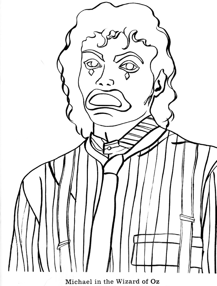 23 Best Michael Jackson Coloring Book Images By
