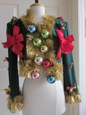 """If I ever have to go to a """"tacky christmas party"""" I totally know what Im going in!"""