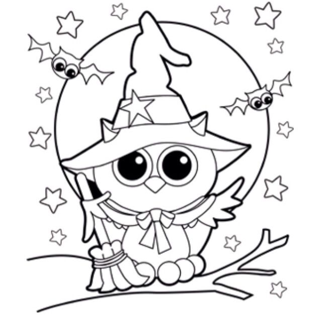 17 Best images about Роспись on Pinterest Baby dragon, Gel pens - best of nice halloween coloring pages