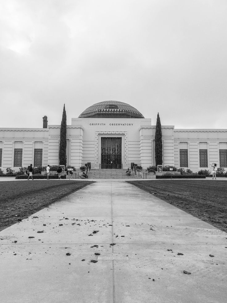 Griffith Observatory, October 2017