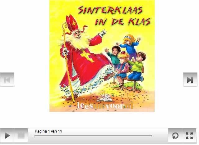 Digitaal prentenboek - Sinterklaas in de klas
