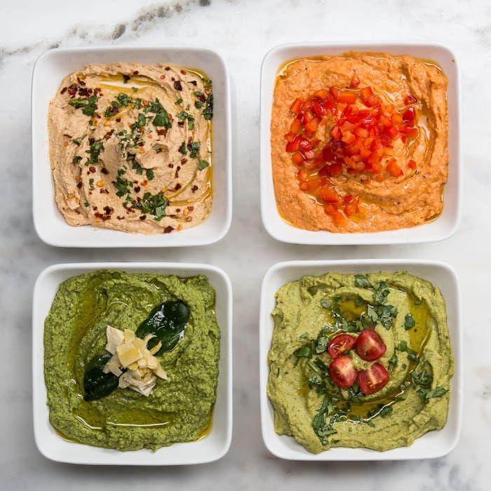 4 Delicious Versions Of Hummus