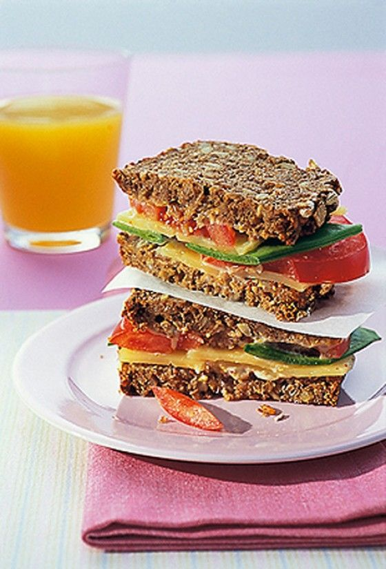 Vollkorn-Käse-Sandwich - Rezepte: Klassische Sandwich Rezepte - 11 - [ESSEN & TRINKEN]