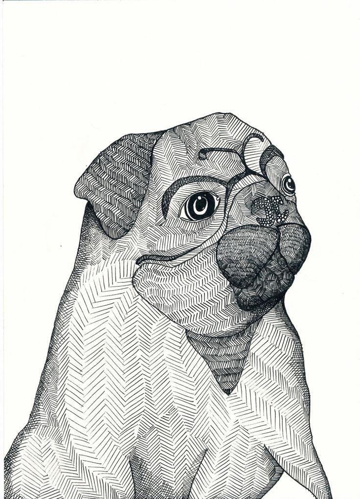 Ida frisch coloriage mandala chien pinterest - Coloriage de chien boxer ...