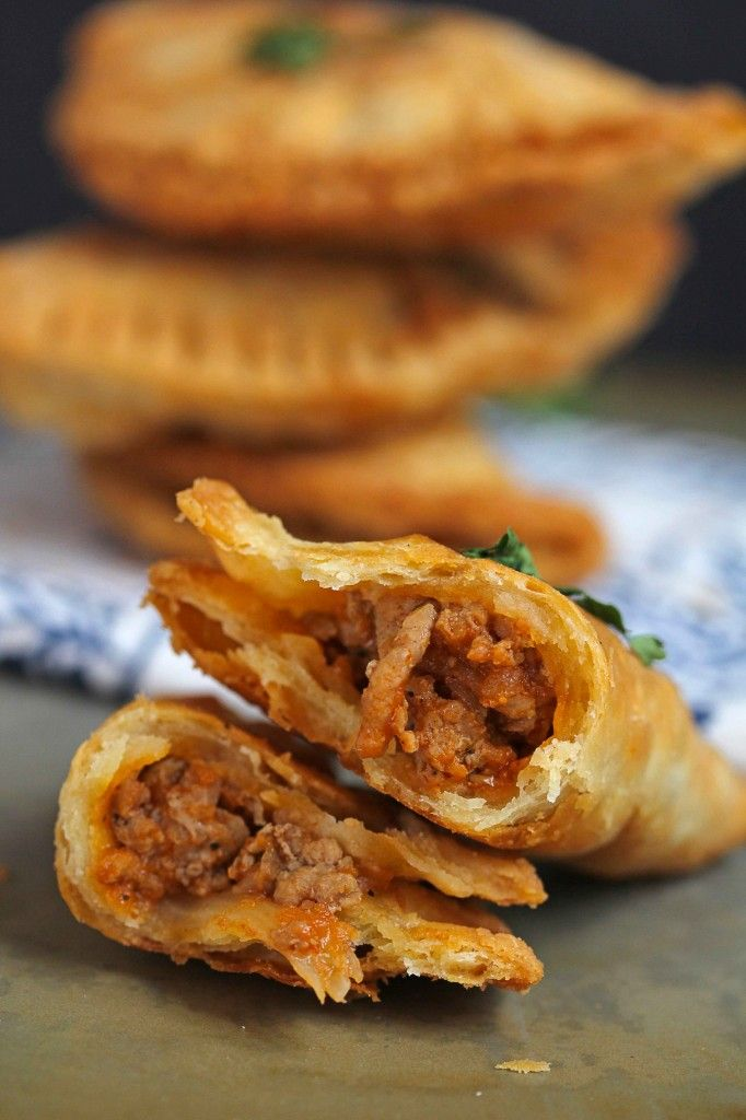 This Delicious Turkey Empanadas Recipe will become your fave go to snack or game day food!  They are filled with flavor and the flakiest crust ever!!