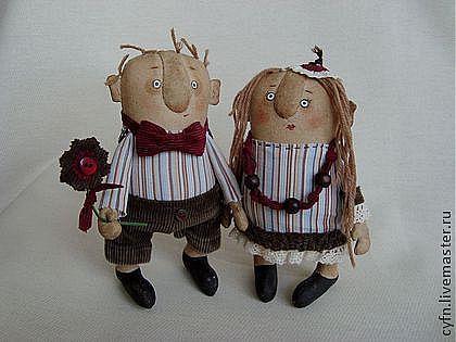 Куклы и игрушки текстильные