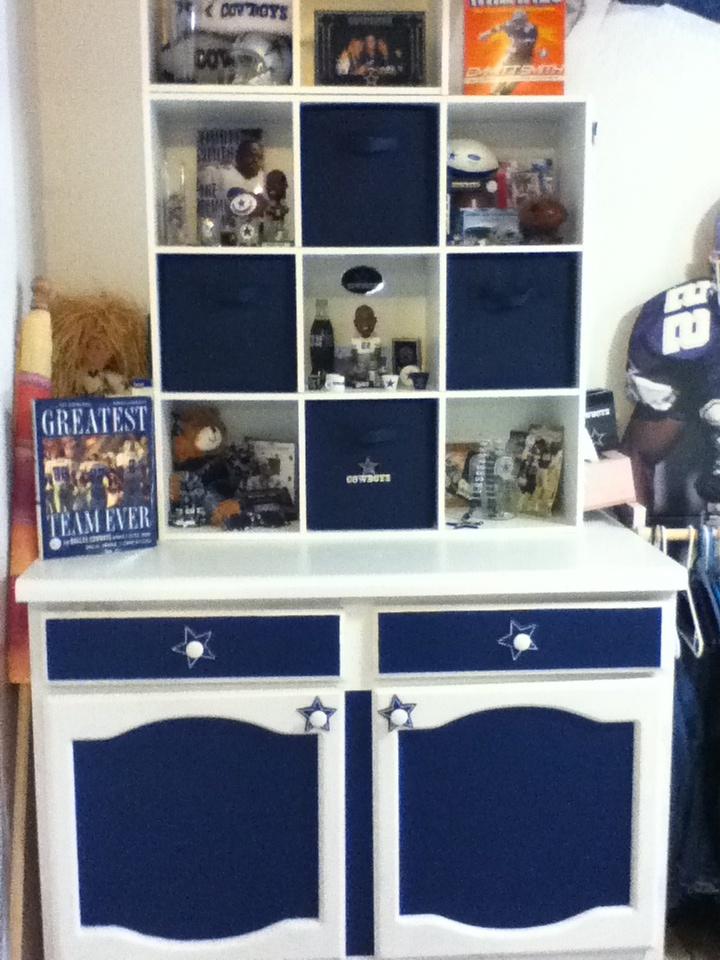 My Dallas Cowboy room