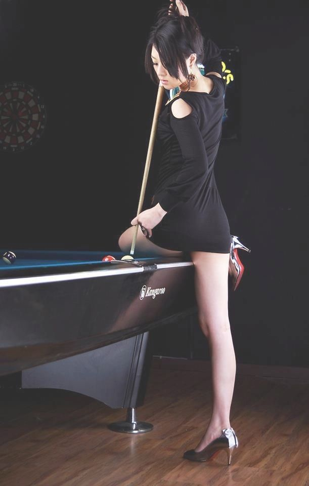 A Girl Like You Players Pool Cue Billiards Tips Plays