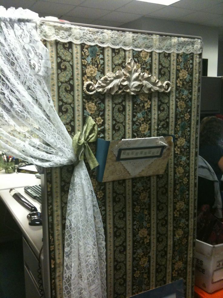 The Shabby Chic Cubicle Http Www Slideshare Net