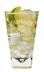 The Jameson Lemonade is a light and fruity Saint Patrick's Day drink made from Jameson Irish whiskey, lemonade and lime, and served over ice...