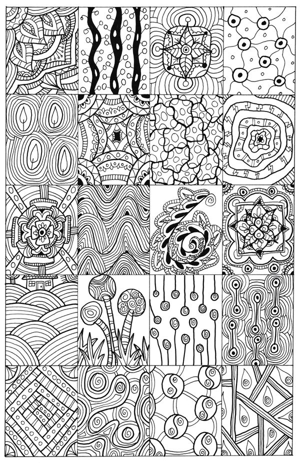 Download The Full Size File From Right To Print And Colour Check Out My Doodle ArtAdult ColoringBooks
