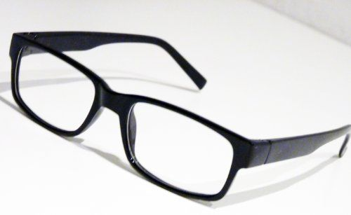 Slim Nerd Clear Brille Nerdbrille Geek Wayfarer Lesebrille ohne St�rke Pantobrille