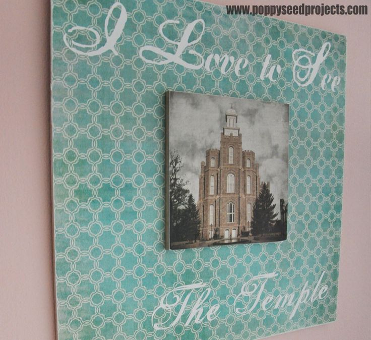 LDS Temple craft projects are always a big hit at Super Saturdays and other ward crafting events, or even just to make on your own.  Choose from Salt Lake and Logan temples.