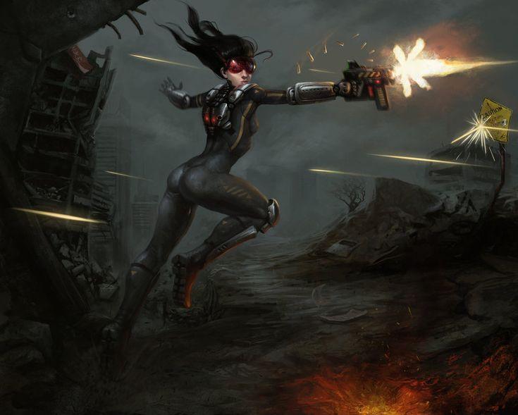 Women Warrior Artwork Sword Rain Cyberpunk Cyberpunk: 142 Best Lost Creature Images On Pinterest