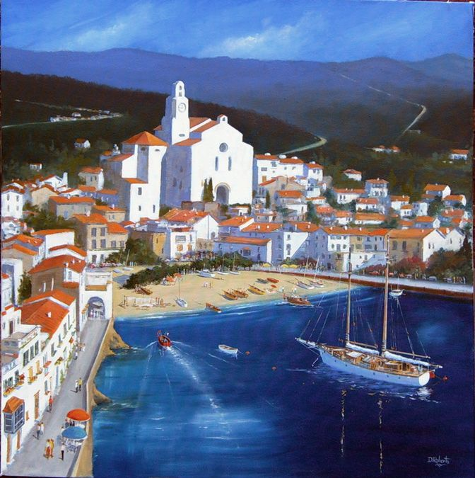 Cadaques in Spain 1960's
