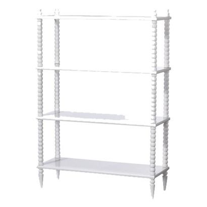 Spindle Bookcase $99.98.  Compare to Land of Nod Jenny Lind @ $299 would make 2 great side tables!