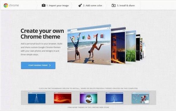 #mychrometheme, la #aplicación oficial de #Google para crear temas de #Chrome