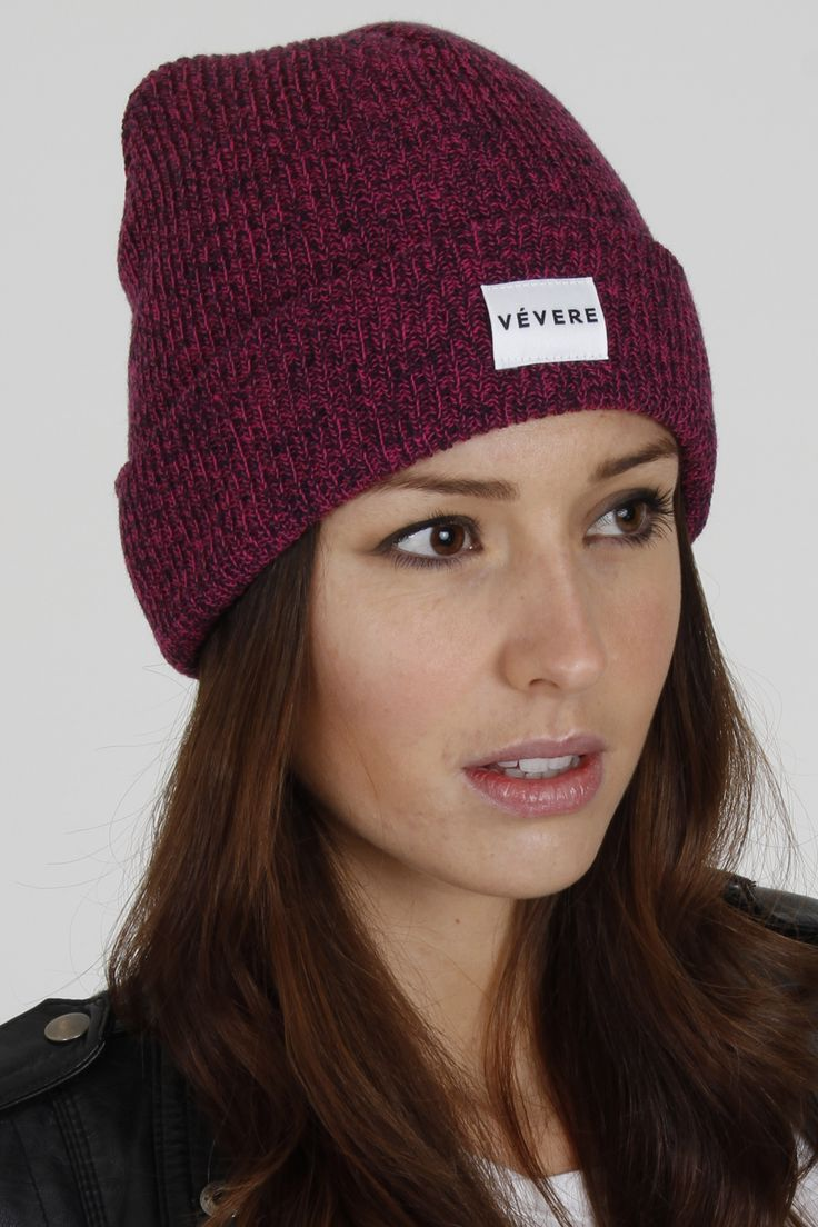 Vevere - Bruges Fuschia Beanie Hat