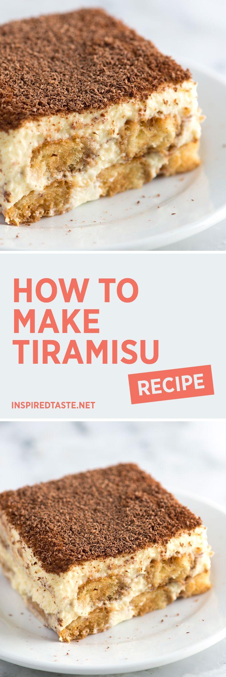 How to Make Tiramisu (Video + Recipe)