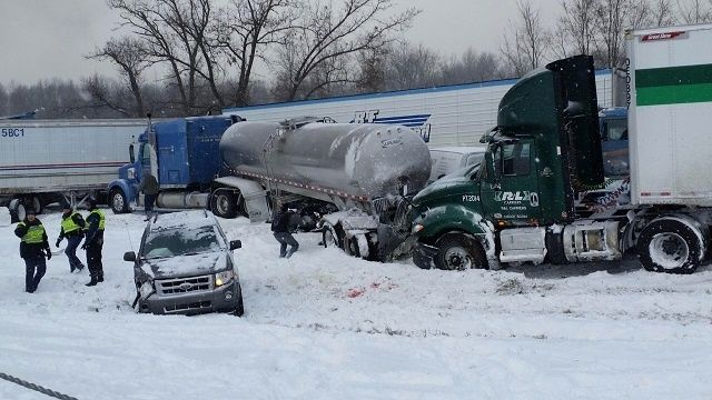 1 killed, 16 injured in 193-car pileup on I-94 west of Battle Creek | News  - Home