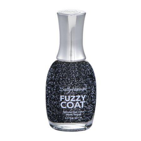 Sally Hansen Fuzzy Coat Textured Nail Color 800 Tweedy, 0.31 FL OZ, Multicolor