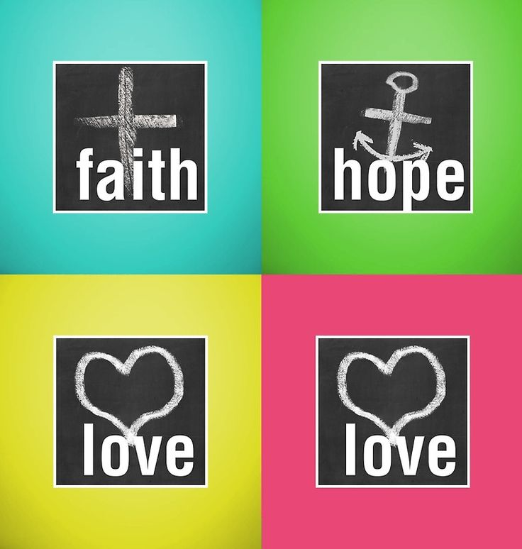 Love Faith Hope Love
