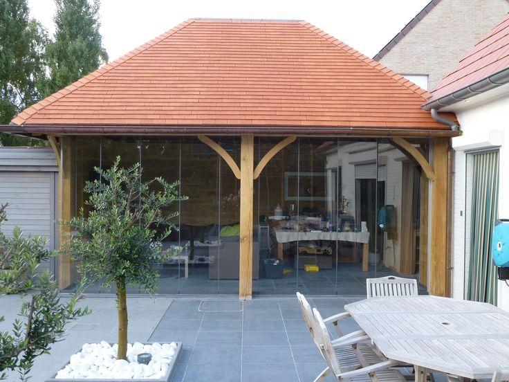 die besten 25 terrassenverglasung ideen auf pinterest orangerie extension glas extension und. Black Bedroom Furniture Sets. Home Design Ideas