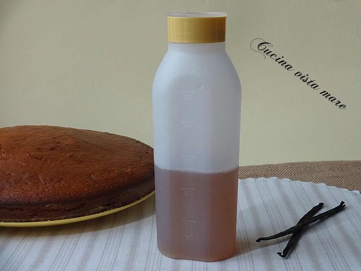 La bagna per torte è un delicato sciroppo da utilizzare per bagnare la base delle torte farcite, aggiunge sapore senza essere invadente!