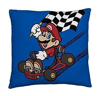 Großartig Das Super Mario Kissen Ist Ein Cooles Deko Highlight Für Das Kinderzimmer  Kleiner Nintendo Fans   Oder Einfach Als Ausgefallene Geschenkidee Für ...