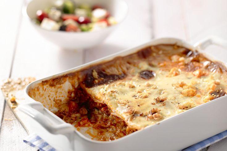 ovenschotel - lamsgehakt, aardappelen, ... - Verwarm de oven voor op 180 °C.