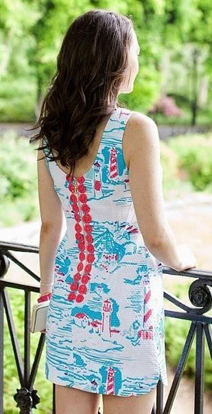 Lilly Pulitzer Delia Shift Dress in Watch Out, worn by @Aaron Hensen Prepster