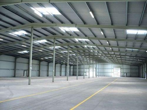 Systemhallen der Firma Renz Container