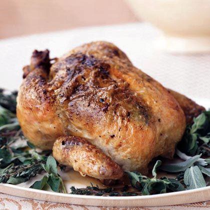 Classic Roast Chicken with Gravy | Chicken Recipes | Pinterest