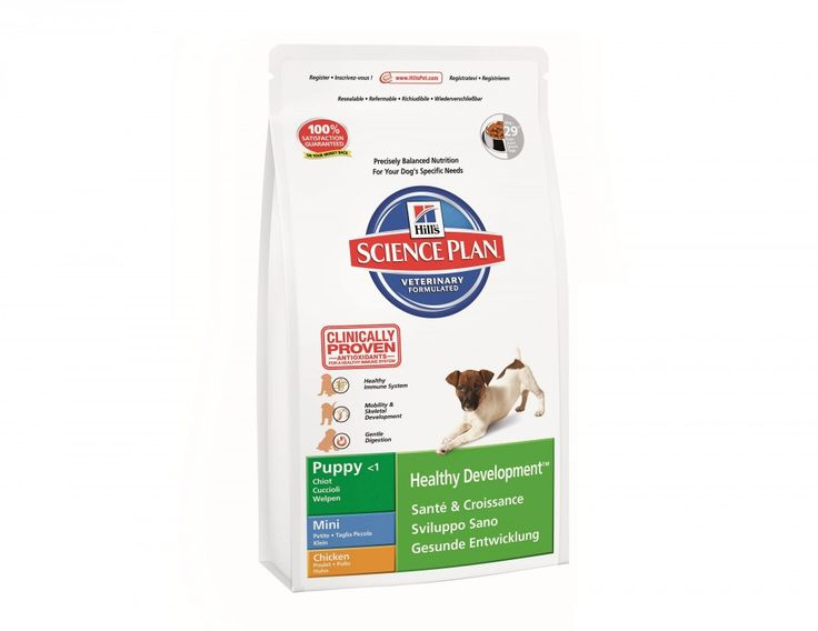 Shop #HillsScience Plan Puppy Mini Chicken #DogFoodTreats Online at Petwish.in available with home delivery across in India.
